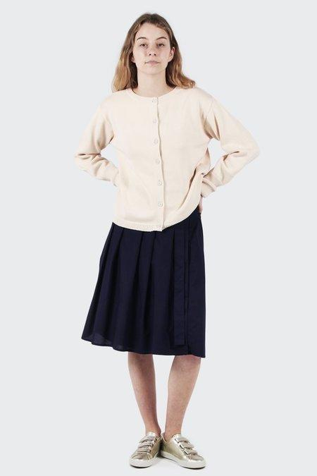 Kowtow Long Player Skirt - Navy