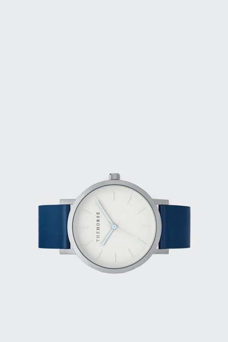 The Horse Original Watch - silver/white face/navy