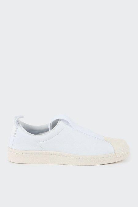 Adidas Originals Superstar BW3s Leather Slip On - white/white