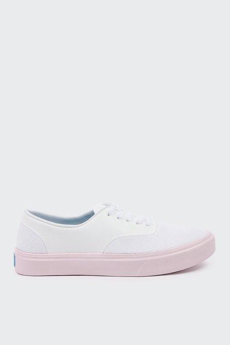 PEOPLE FOOTWEAR The Stanley - yeti white/cutie pink