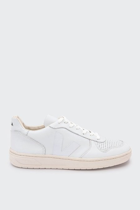 Unisex VEJA V10 Leather - extra white/extra white