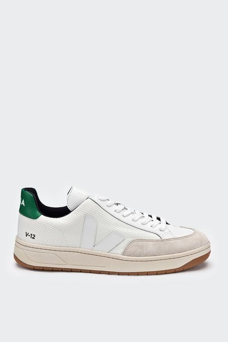 Unisex VEJA V12 BMesh - white/emeraude/natural