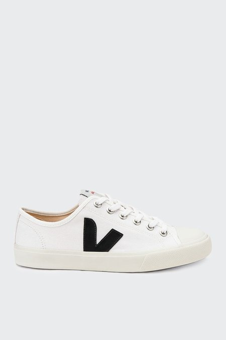 Unisex VEJA Wata Canvas - white/black