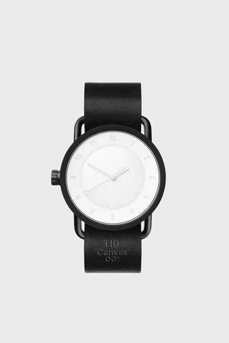 TID Watches X FUWL No.1 Canvas 001 Set - black/white