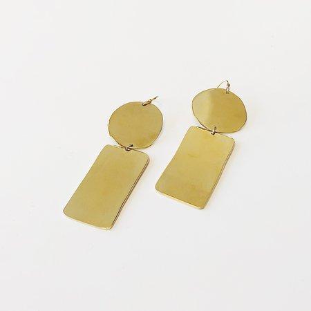 Lane Walkup Gold Etet Earrings