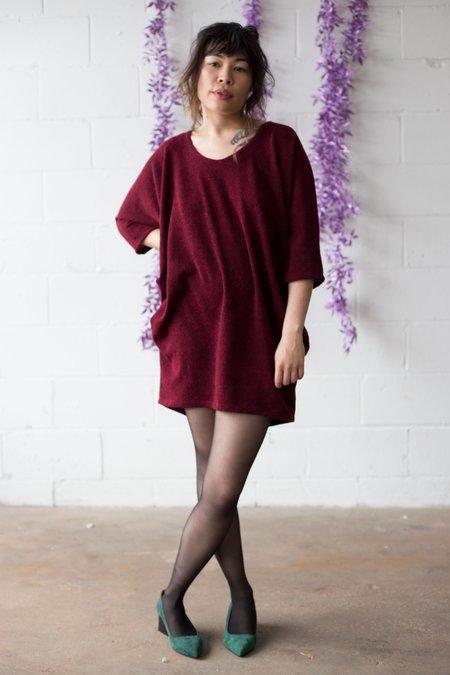 Valérie Dumaine Madigan Dress - Bordeaux
