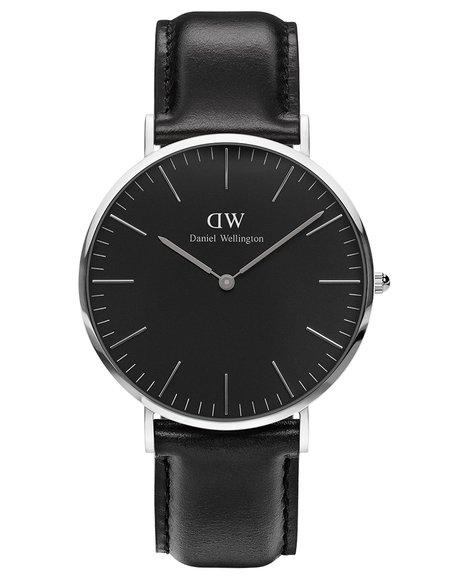 Daniel Wellington Classic Black Sheffield Watch Silver 40mm