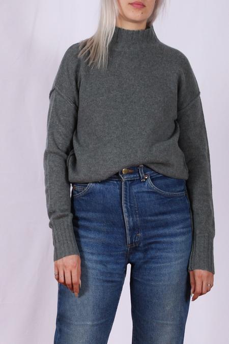 Hartford Myrtille Mock Neck Sweater
