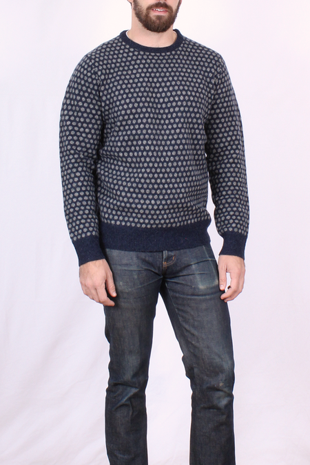 Hartford Wool Sweater with Dots