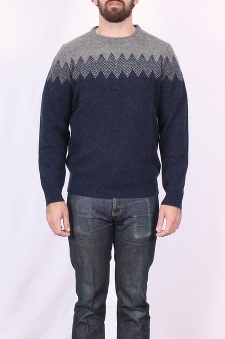 Hartford Zig Zag Wool Sweater