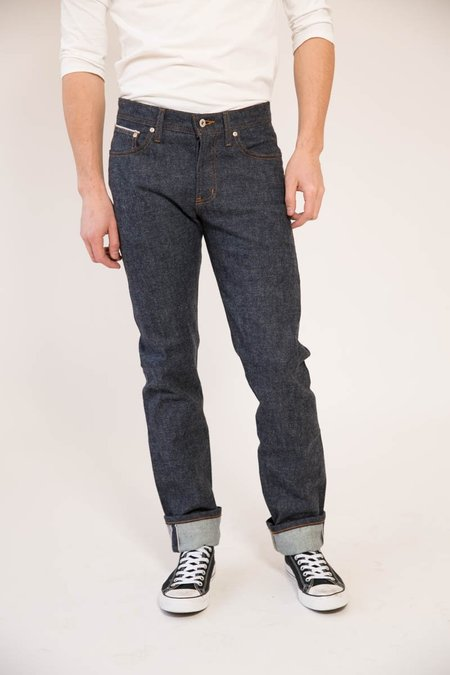 Naked & Famous Weird Guy Brushed Stretch Selvedge