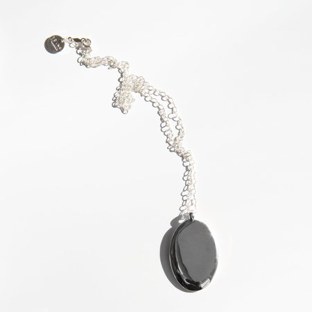 Young Frankk Sterling Silver Stone Necklace