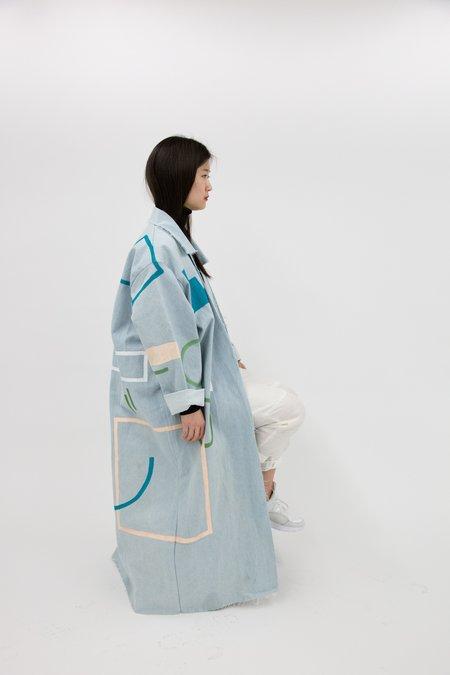 Studio Hecha x West End Select Shop TONE Hand Painted Coat