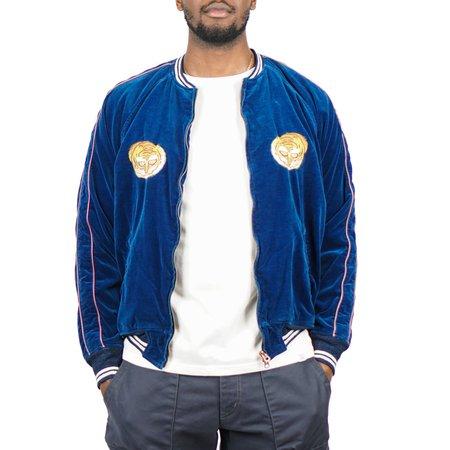Remi Relief Indigo Velour Souvenir Jacket - Indigo