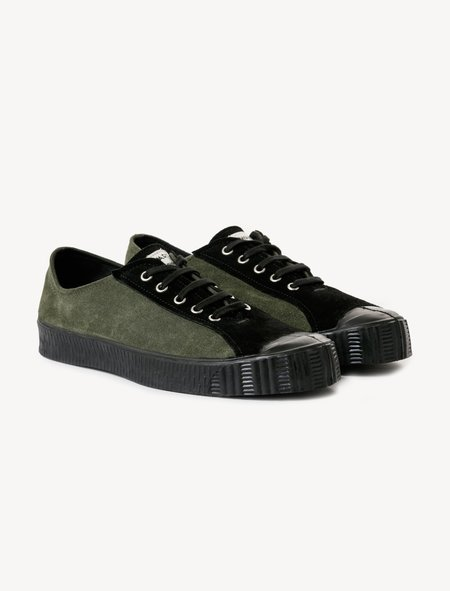Comme des Garçons Spalwart Special Low Sneakers - Olive
