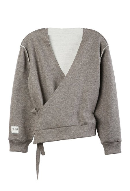 Da/Da Diane Ducasse Wrap Over Sweater