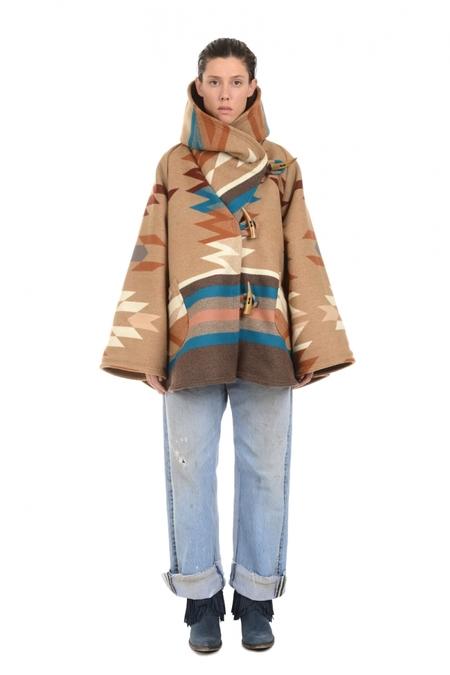 Lindsey Thornburg + Pendleton Roselyn Begay Trench Cloak