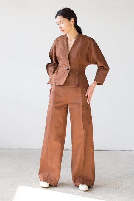 Samuji Flor Trousers in Brown