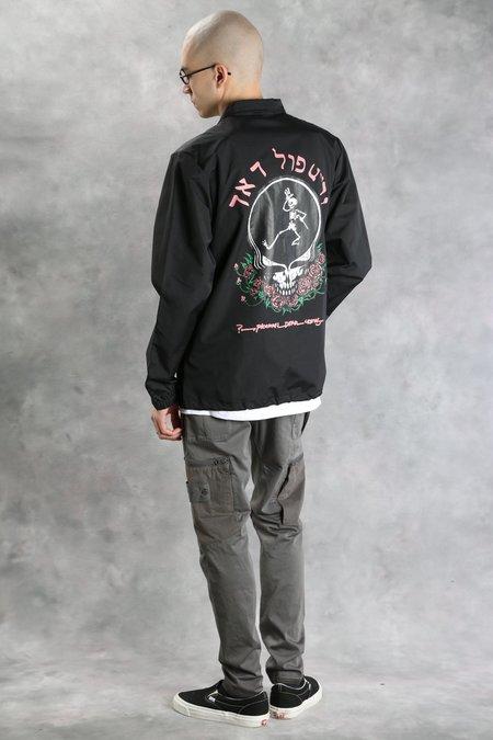 Pleasures Skull & Rose Coaches Jacket - Black