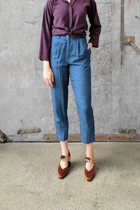 Megan Huntz Larry Pleated Pants