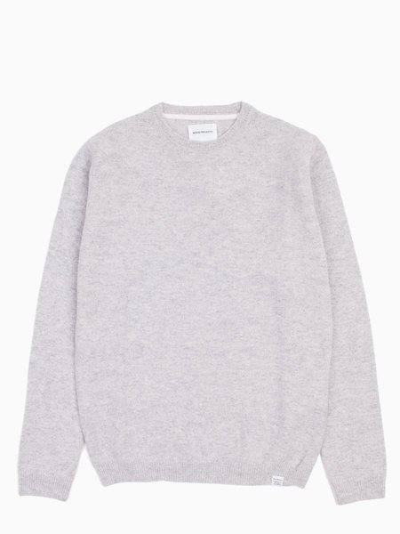 Norse Projects Sigfred - Lambswool Light Grey Melange
