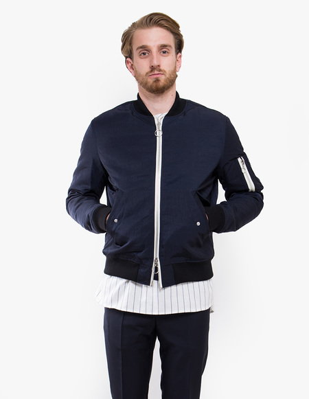 Soulland Thomasson Bomber Jacket - Navy