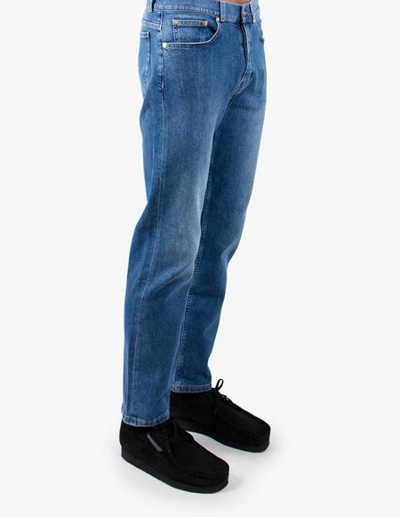 Tom Wood Straight Denim Jeans - Dark Stone Washed