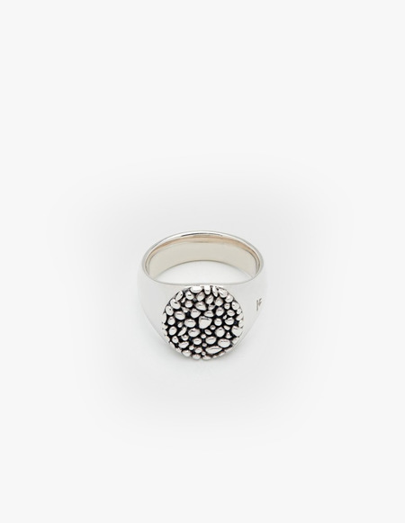 Tom Wood Oval Stingray Ring - Silver