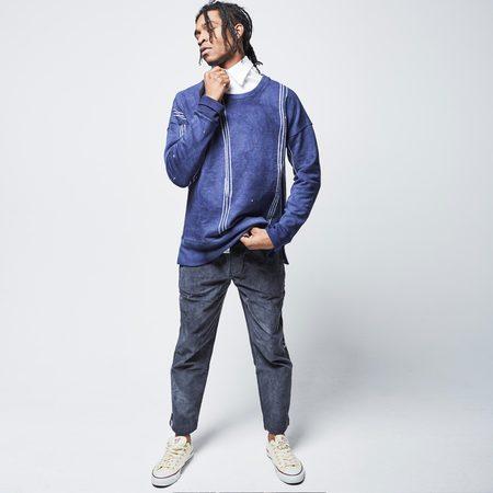 Post-Imperial Lagos Sweatshirt - Indigo