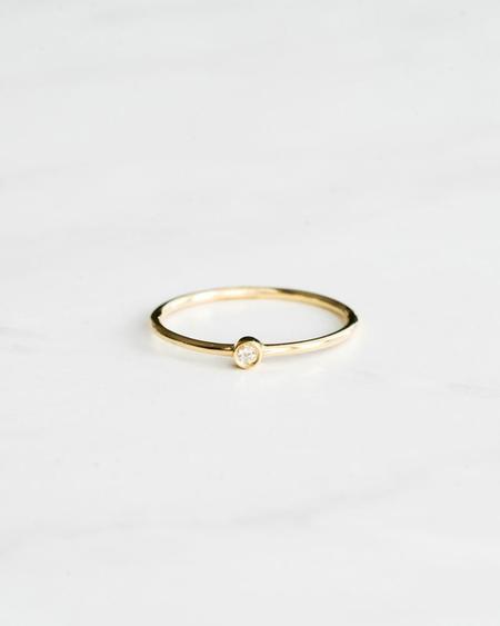 Seldom Seen Rose Cut Bezel Diamond Ring
