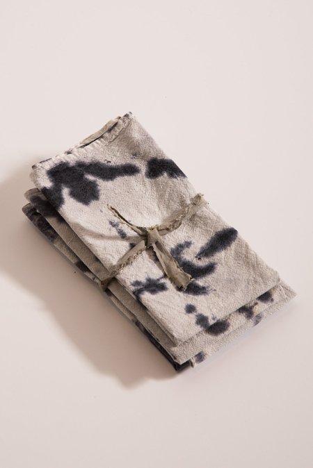 Samantha Verrone Napkin Set - Logwood/Iron