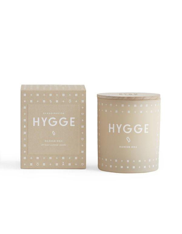 Skandinavisk Hygge Cosiness Scented Candle - Taupe