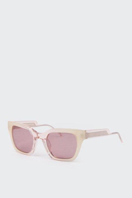 Kaibosh Moddol Manners Sunglasses - apricot gradient
