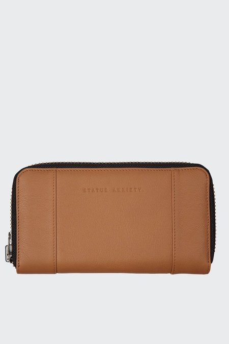 Status Anxiety State Of Flux Wallet - Tan