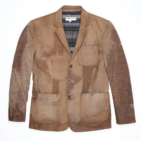 Krammer & Stoudt Cary Waxed Cotton Blazer