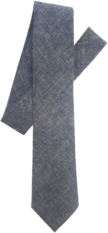 David Hart Japanese Chambray Tie