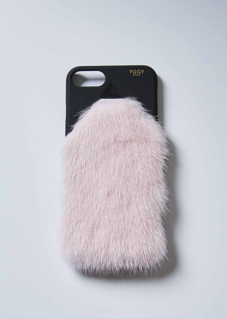 YGGY Mink iPhone 7/8 Case - Light Pink