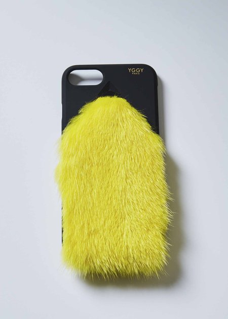 YGGY Mink iPhone 7/8 Case - Yellow