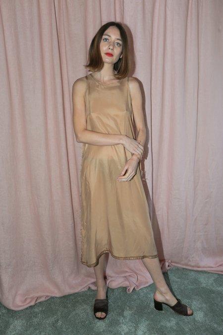 Poche Slip Dress in Blush