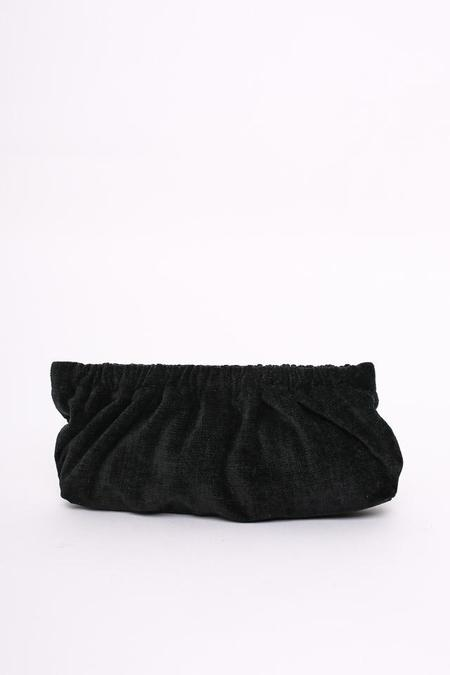 Rachel Comey Soo Clutch in Black Velvet