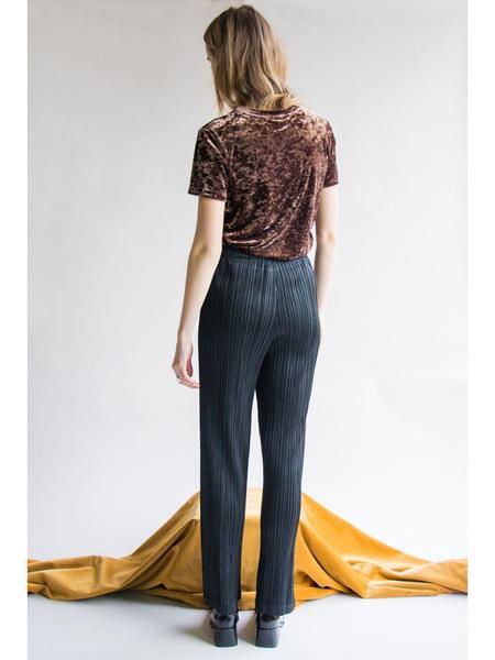 Issey Miyake Straight Pant - Black