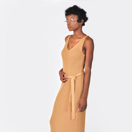 Kowtow Gala Dress - Tan