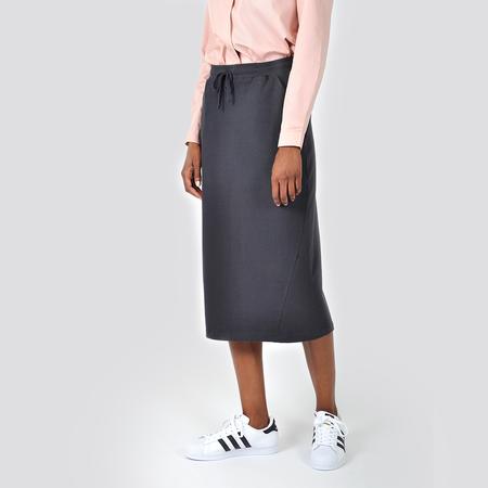 Kowtow Building Block Skirt - Charcoal