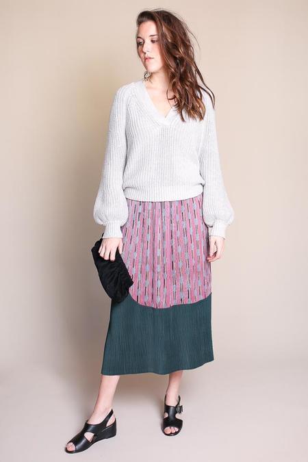 Rachel Comey Ballista Skirt in Pink/Green
