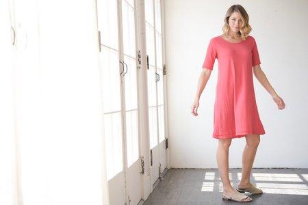 Christina Lehr Vintage T Dress - Red