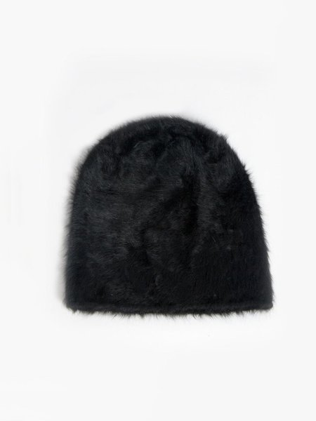 Reinhard Plank Cuffia Hat Black
