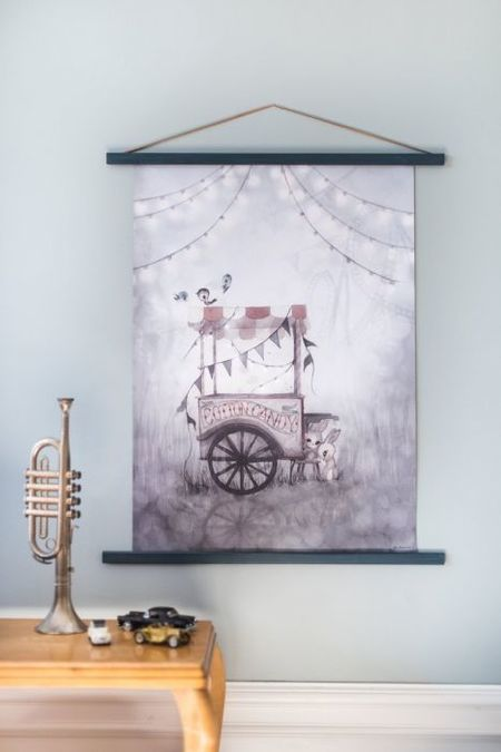 Kid's Mrs. Mighetto Cotton Candy - 50x70cm Limited Edition Print