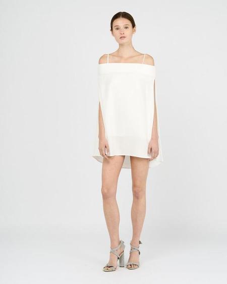 Gary Bigeni Moss Silk Mini Dress