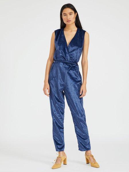 Silvae Valkyrie Jumpsuit - Sapphire Blue
