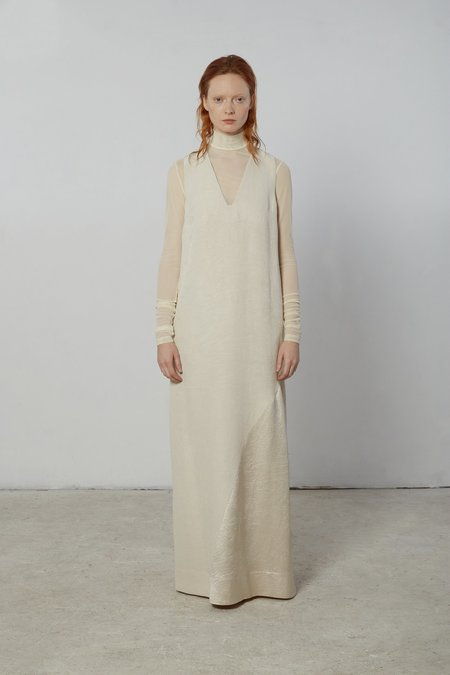 Nomia Godet Gown - Sand